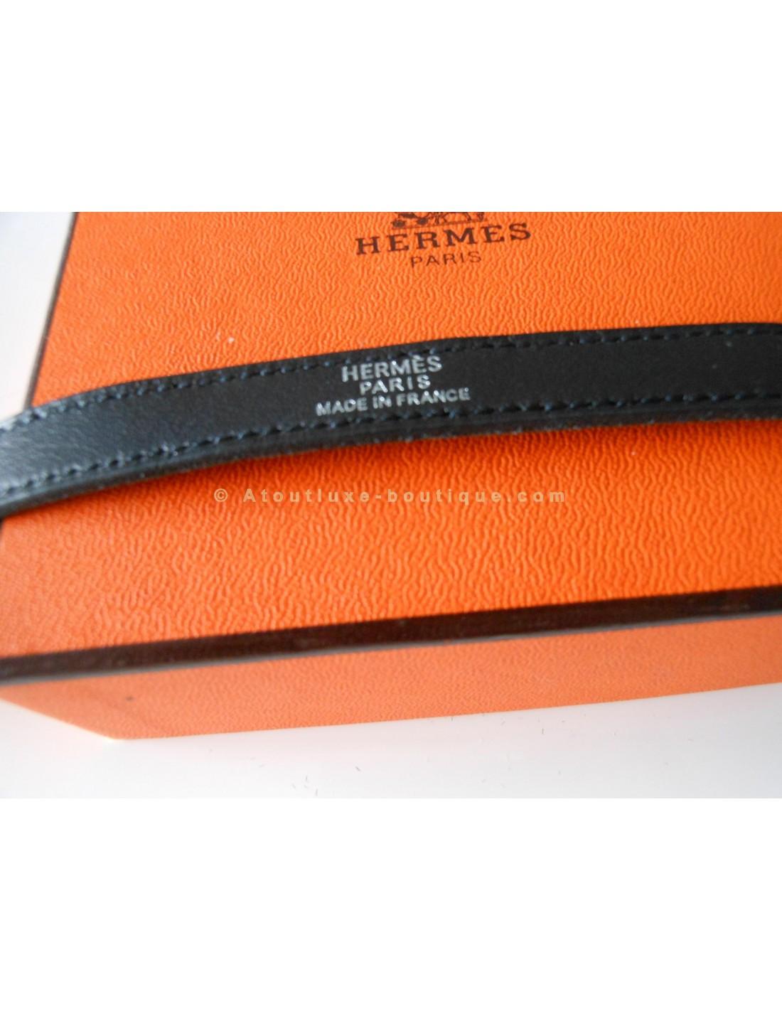 ... coupon code for montre cadenas hermes kelly bracelet double tour noir  atoutluxe b3fdd ecfdb 88bb472393e