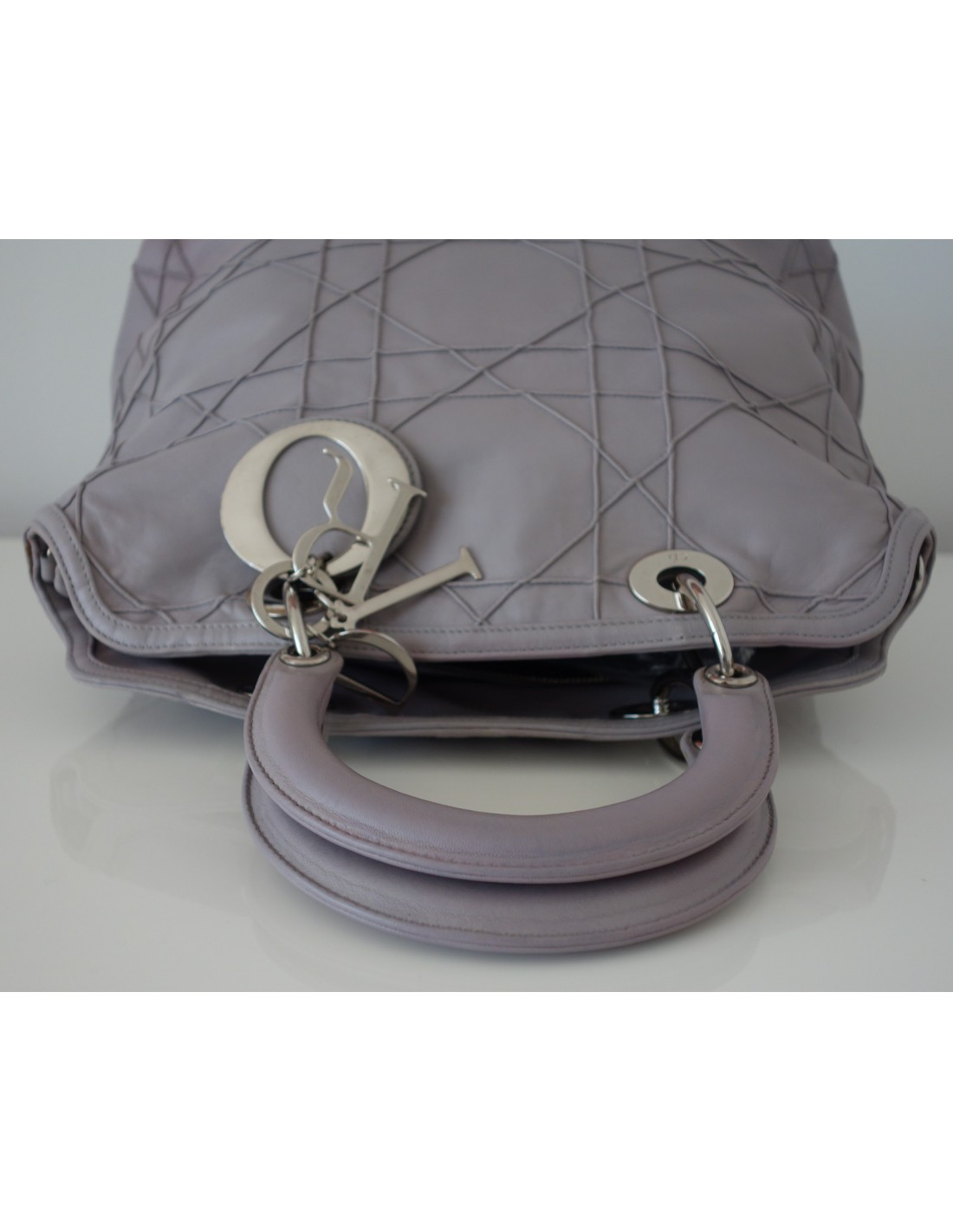 sac dior granville gris atoutluxe boutique. Black Bedroom Furniture Sets. Home Design Ideas