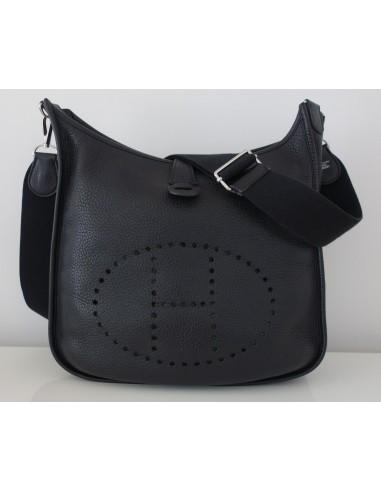 bags hermes - SAC HERMES EVELYNE III NOIR - Atoutluxe Boutique