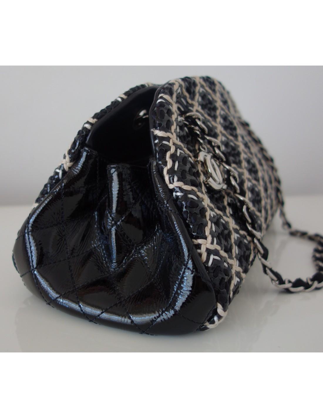 Sac A Main Chanel Blanc Et Noir : Sac chanel noir et blanc atoutluxe boutique