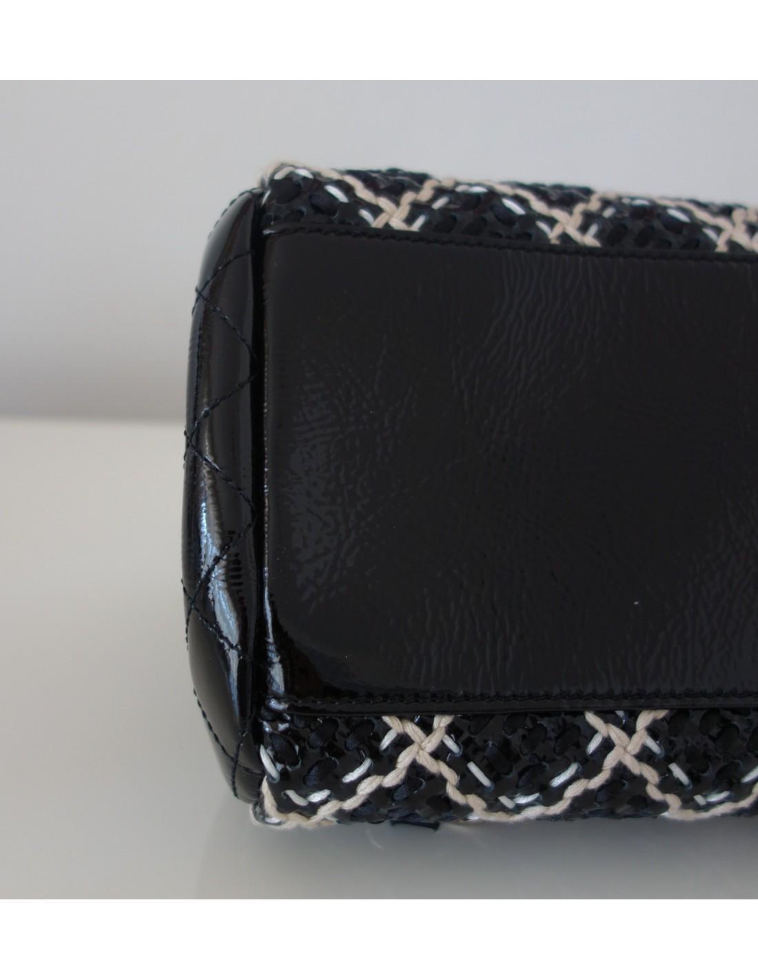 Sac A Main Chanel Blanc Et Noir : Sac chanel noir et blanc