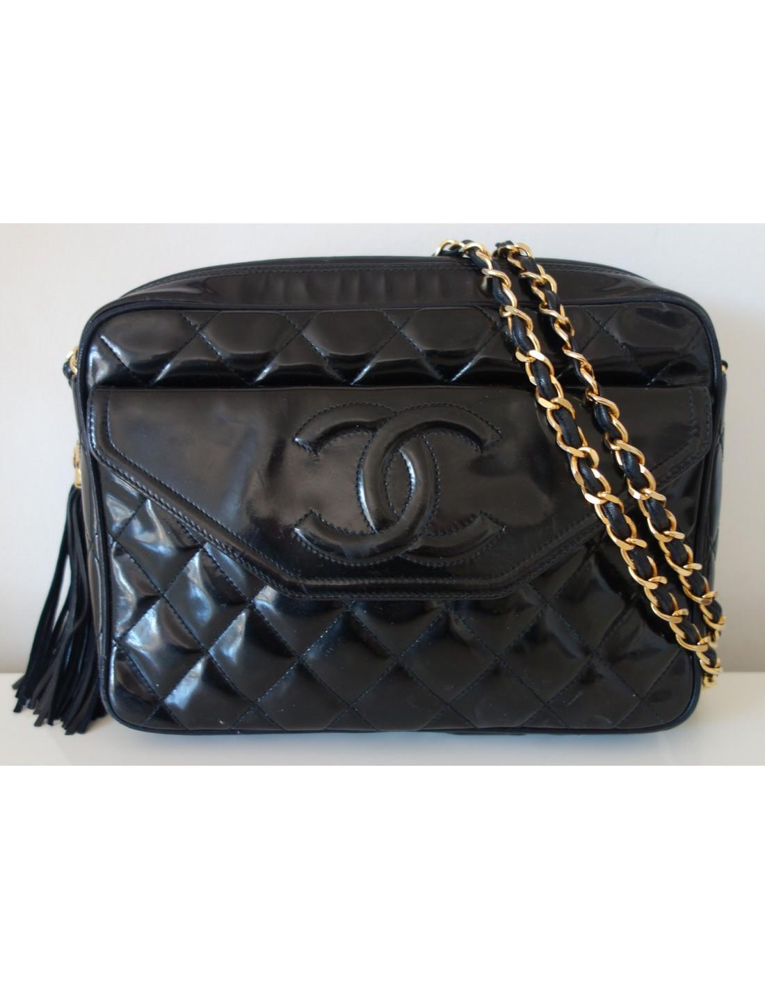 SAC CHANEL VINTAGE POMPON - Atoutluxe Boutique b1dce9d6b57