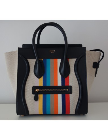 SAC CELINE LUGGAGE MULTICOLORE