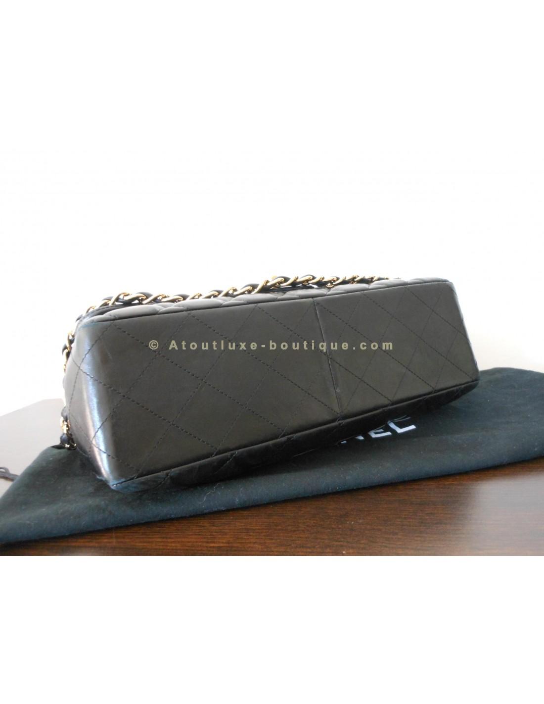 SAC CHANEL MADEMOISELLE NOIR GRAND MODELE - Atoutluxe Boutique da1894506d2