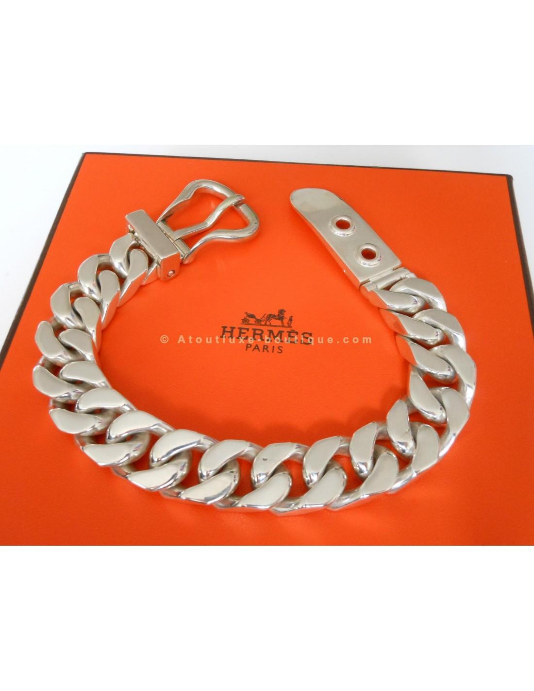 5a9dfcc1b09e BRACELET HERMES SELLIER TGM - Atoutluxe Boutique