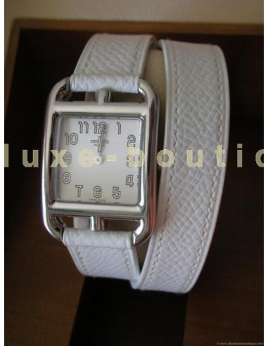 MONTRE CAPE COD HERMES DOUBLE TOUR BLANC