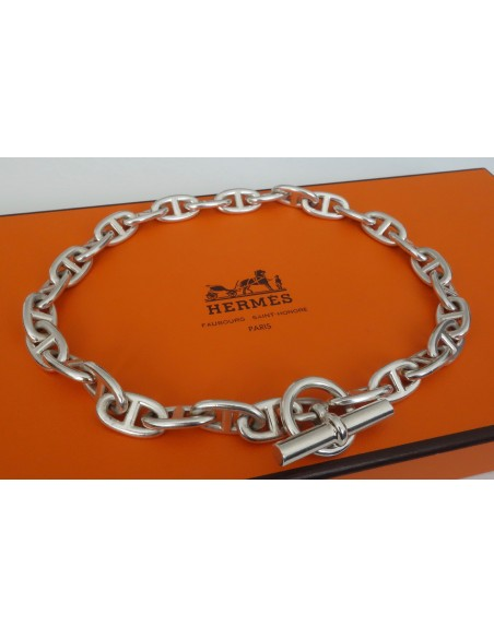 COLLIER  HERMES CHAINE D'ANCRE GM