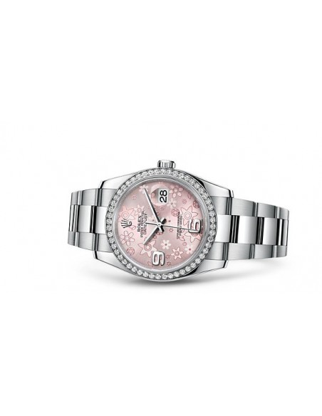 MONTRE ROLEX OYSTER PERPETUAL DIAMANTS