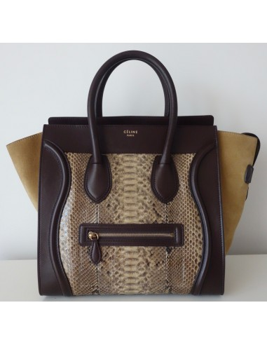 Atoutluxe Borsa Boutique Celine Luggage Python zxBPxRqH