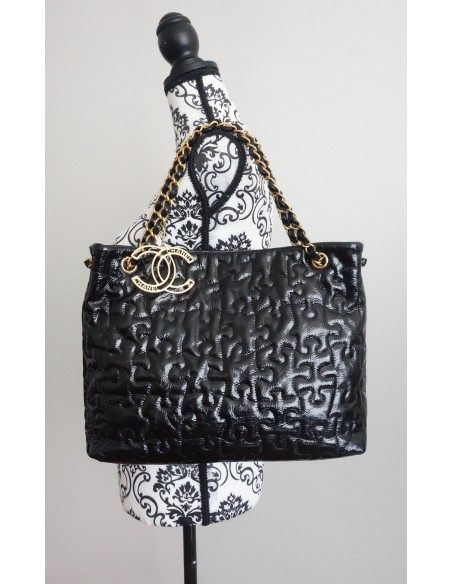 SAC CHANEL SHOPPING NOIR