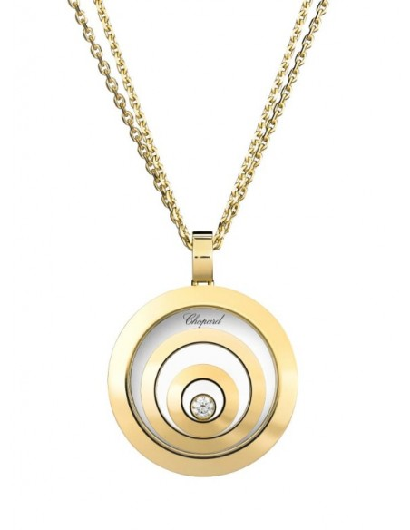 PENDENTIF CHOPARD HAPPY SPIRIT OR JAUNE