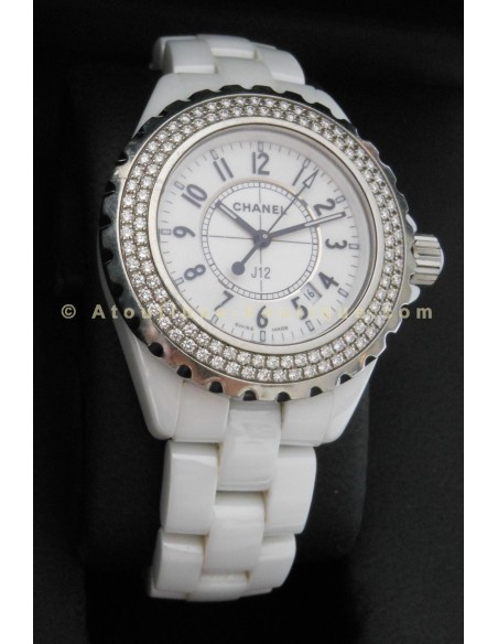 MONTRE CHANEL J12 H0967 -DIAMANTS