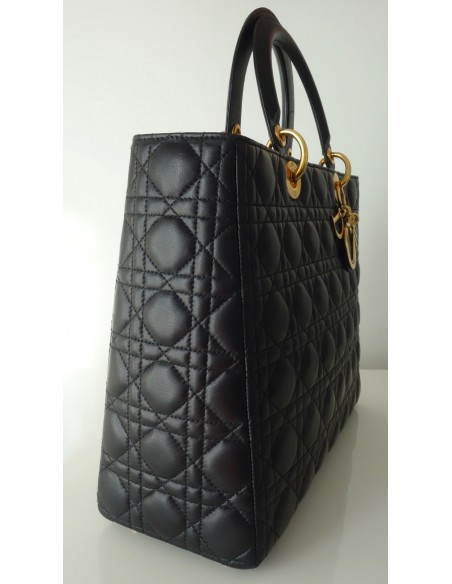 SAC LADY DIOR GM NOIR
