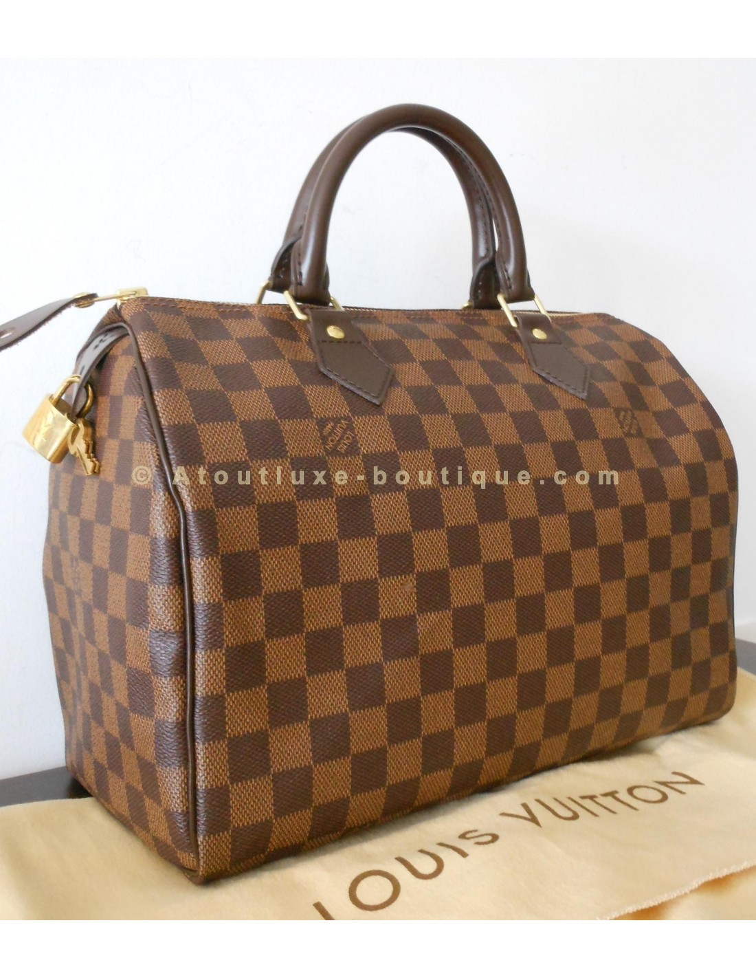 сумка Louis Vuitton Damier Ebene : Pin speedy damier ebene on