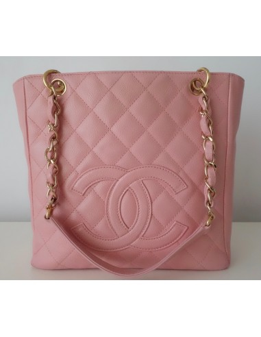 SAC CHANEL SHOPPING ROSE