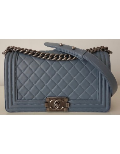 SAC CHANEL BOY BLEU JEAN