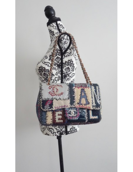 SAC CHANEL TIMELESS PATCHWORK