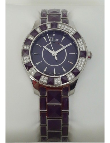MONTRE DIOR CHRISTAL DIAMANTS