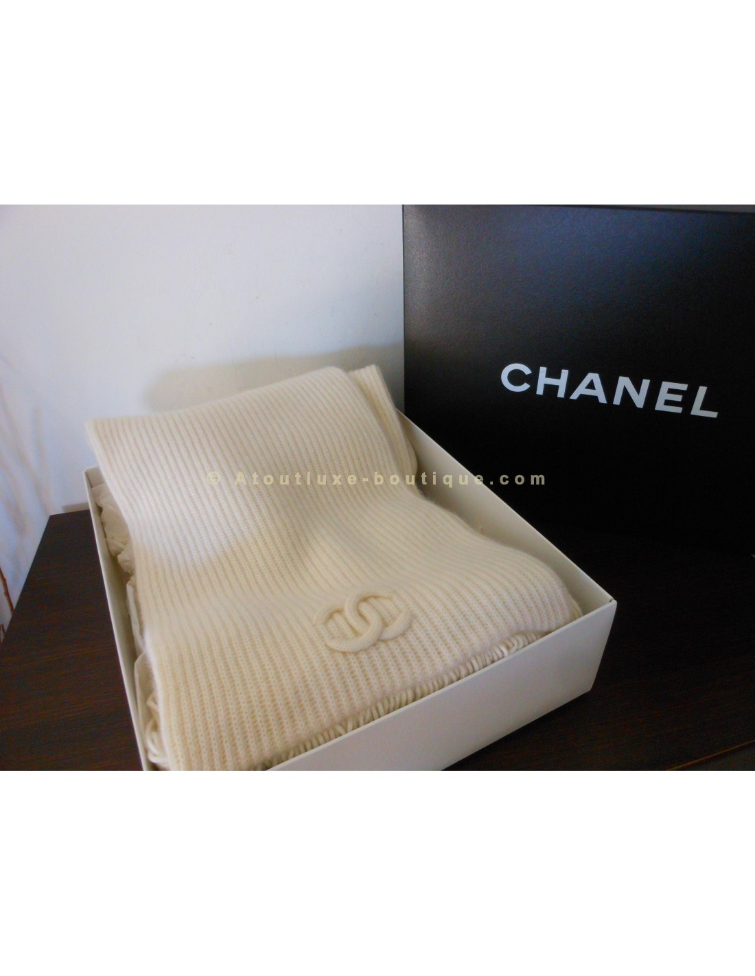 ECHARPE CHANEL CACHEMIRE - Atoutluxe Boutique 524d208e254