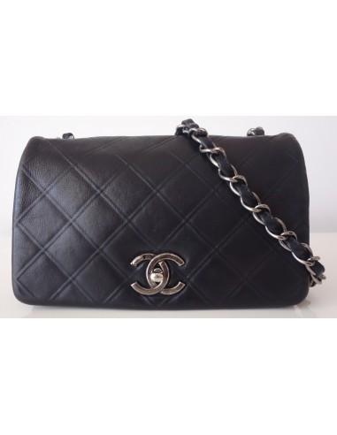 Sac Chanel cuir noir