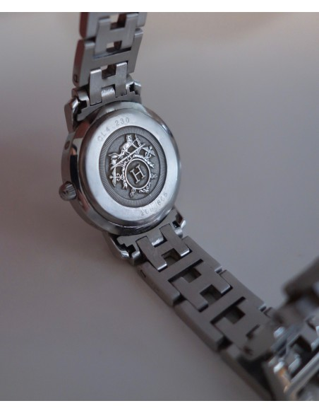 MONTRE HERMES CLIPPER DIAMANTS