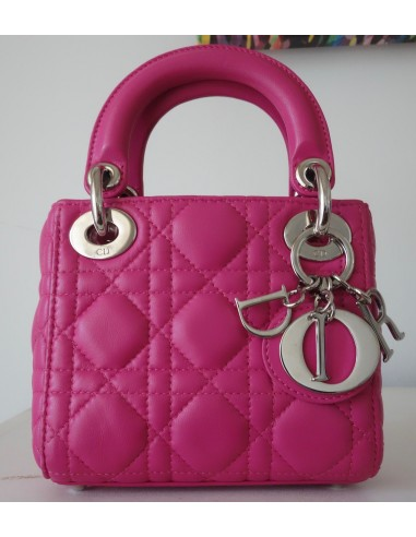 SAC MINI LADY DIOR ROSE