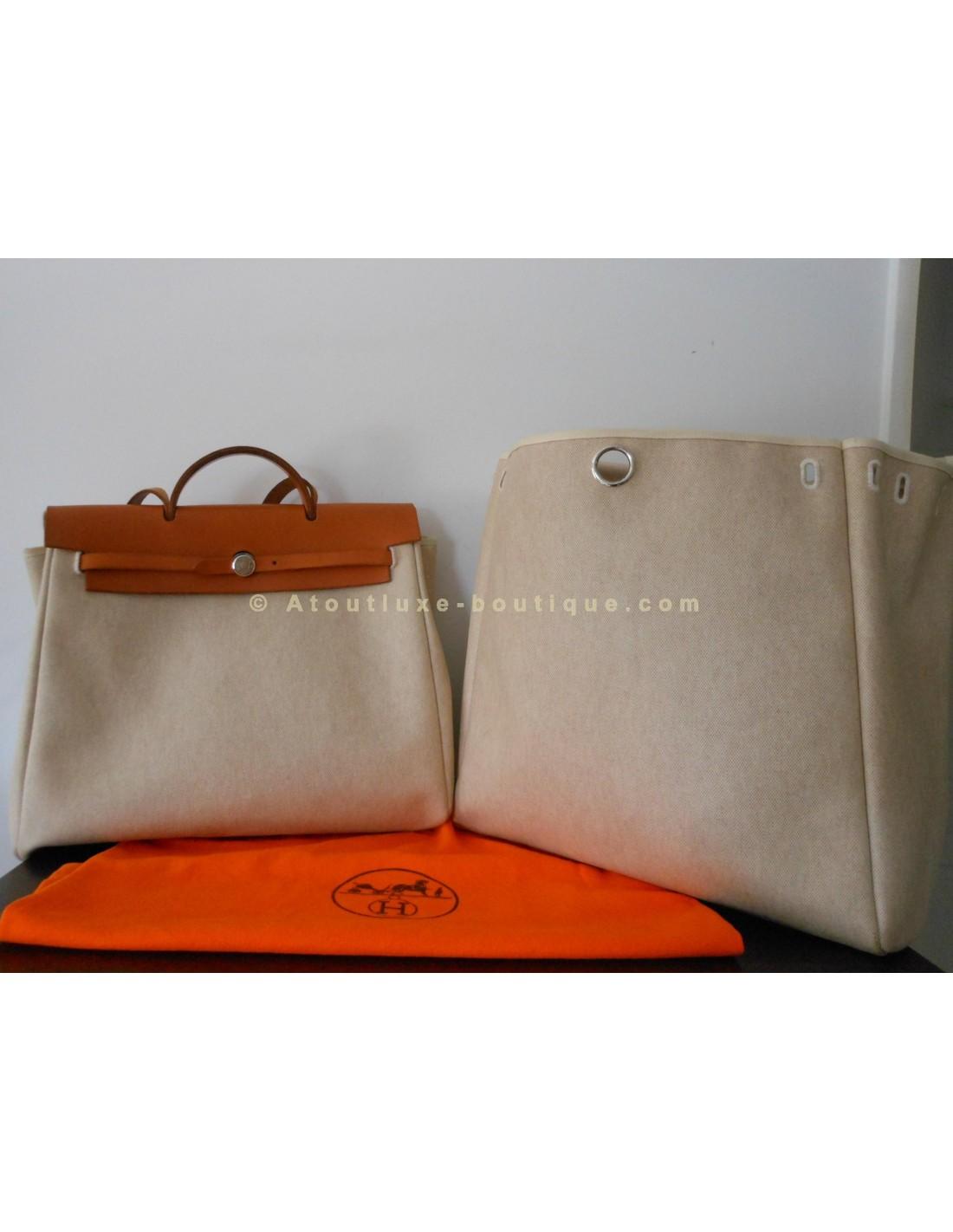 Atoutluxe Boutique Hermes Herbag Modele Sac Grand wP8ZNn0OkX
