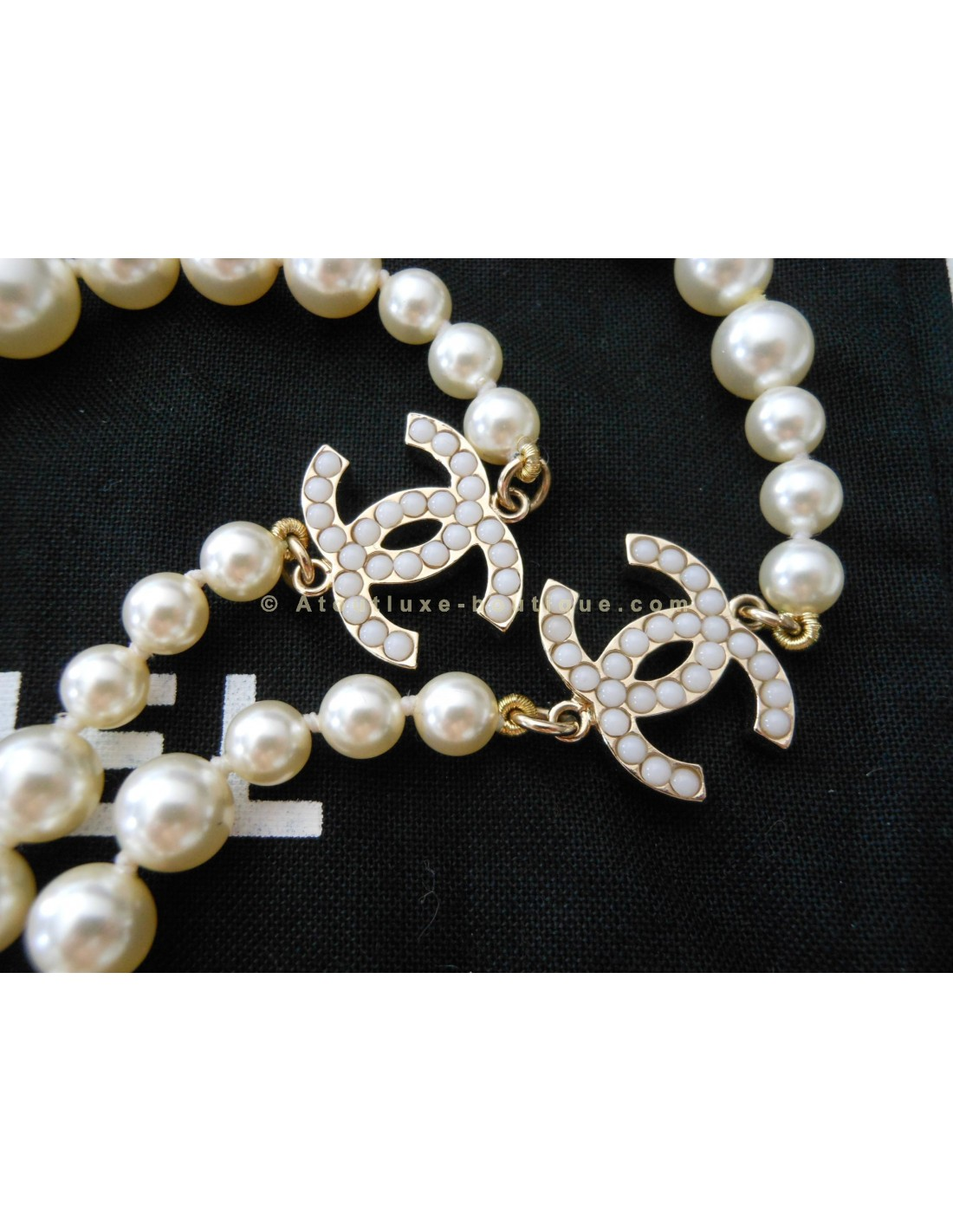 collier perle chanel