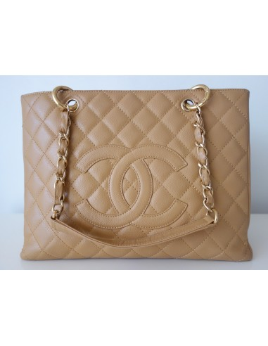 SAC CHANEL SHOPPING GST BEIGE