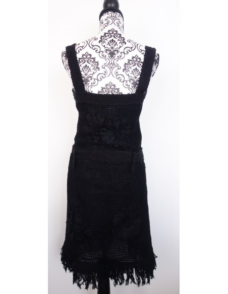 ROBE CHANEL CROCHET