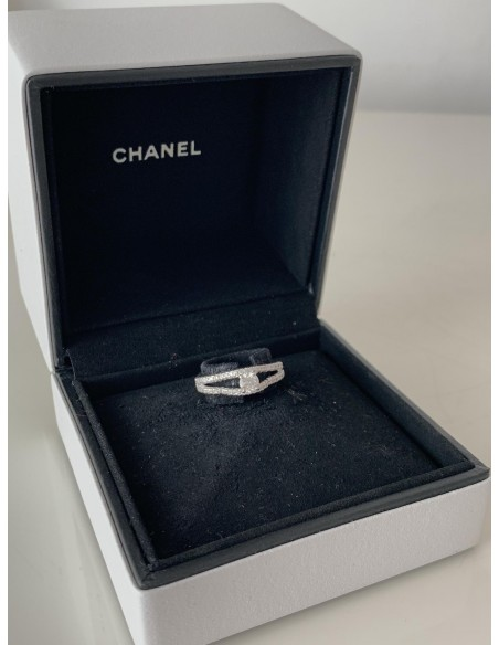 BAGUE CHANEL CAMELIA DIAMANTS