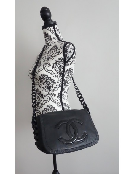 BESACE CHANEL ALL BLACK