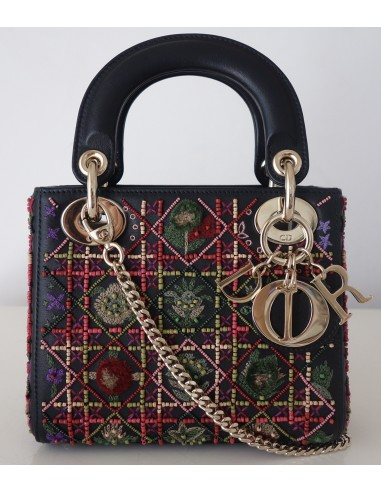 SAC MINI LADY DIOR BRODÉ