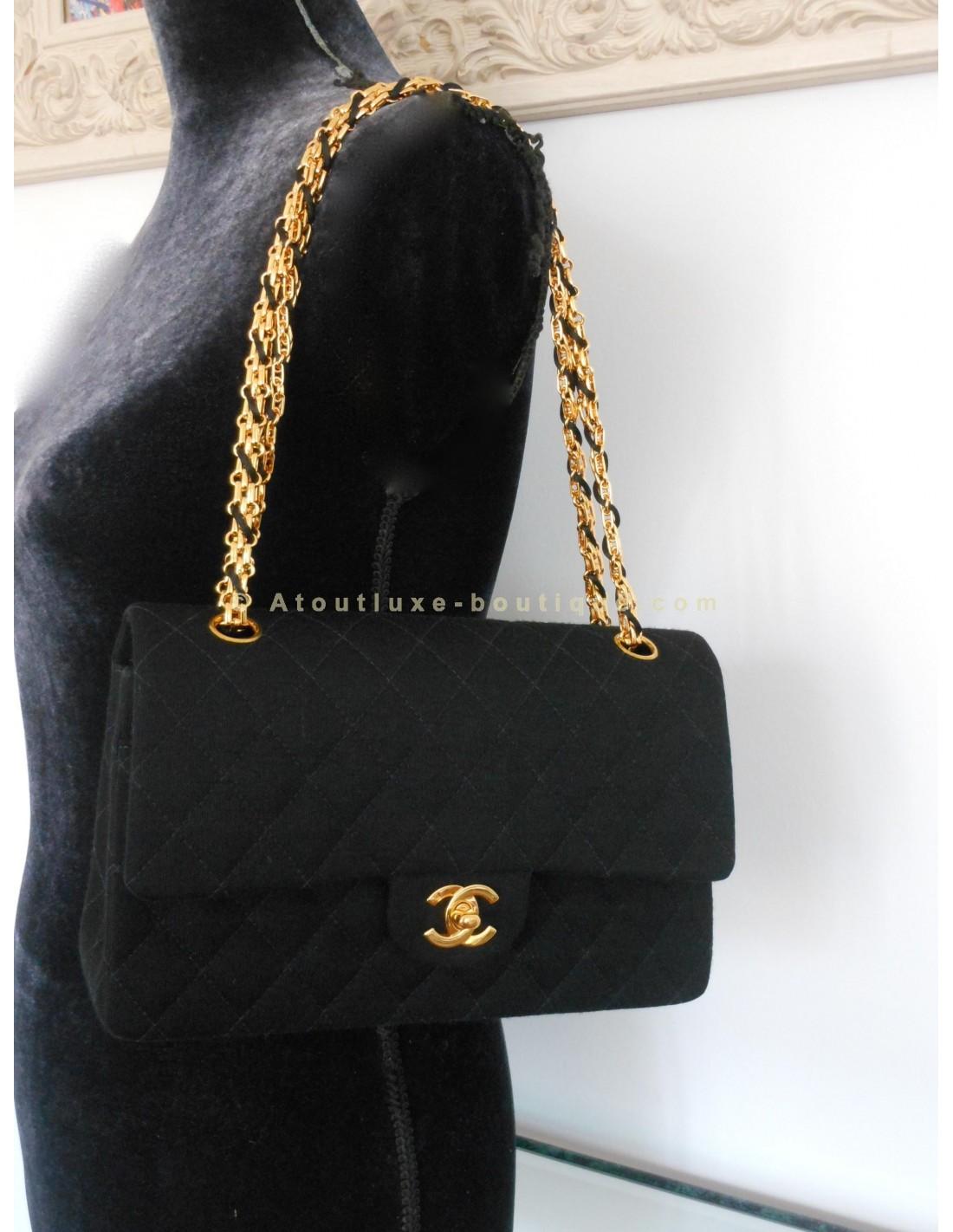 sac chanel noir classique 33b605c8ef8