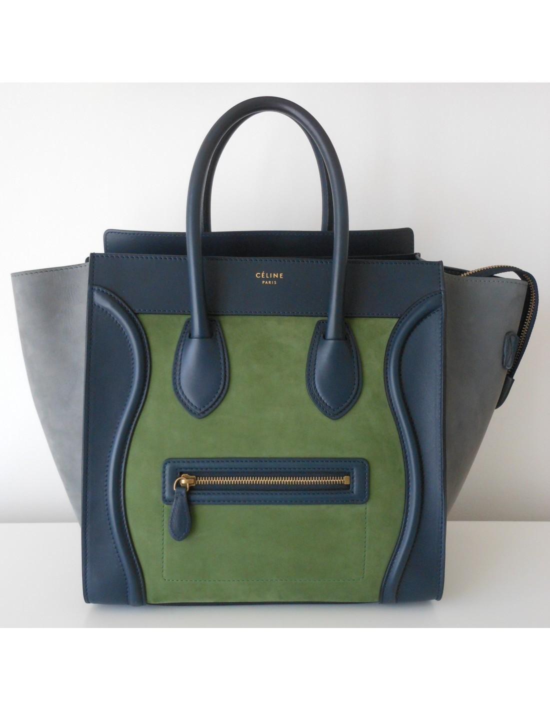Atoutluxe Celine Luggage Boutique Micro Borsa cqpy71Hq