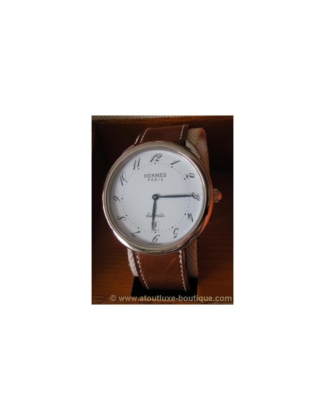 04ad47190ca MONTRE HERMES ARCEAU GRAND MODELE HOMME - Atoutluxe Boutique
