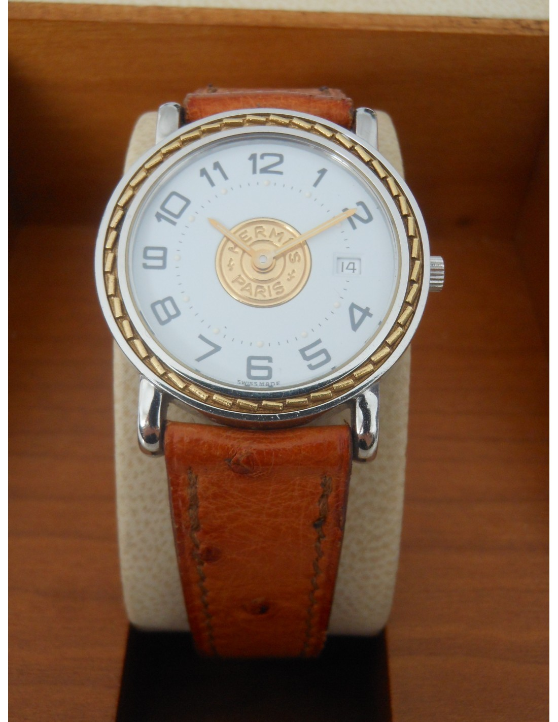7f459f01f0 montre hermes sellier pm pour dame