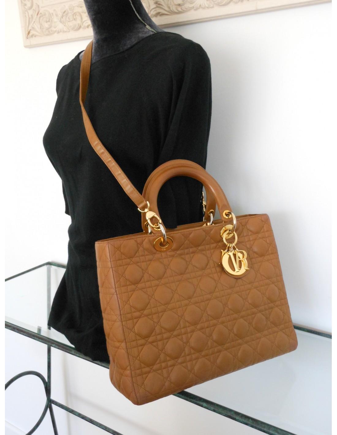 e4e9b48835b SAC LADY DIOR GRAND MODELE - Atoutluxe Boutique