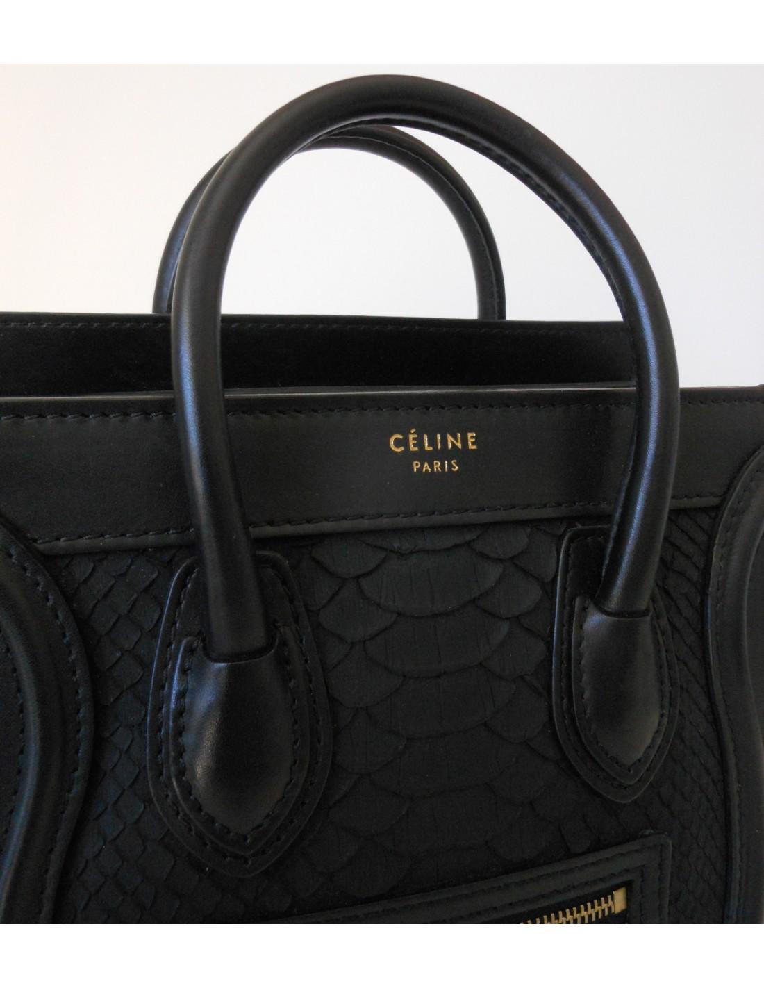 3bb053899d SAC CELINE NANO LUGGAGE - Atoutluxe Boutique