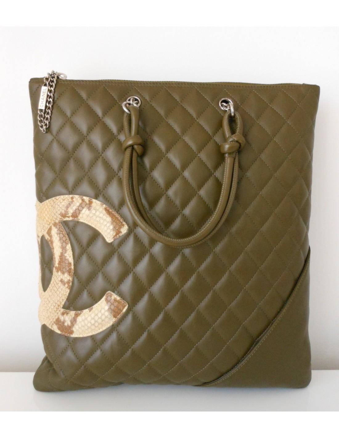 SAC CHANEL CAMBON GRAND MODELE - Atoutluxe Boutique 04d188c8be0