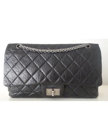 Sac Chanel 2.55 noir maxi