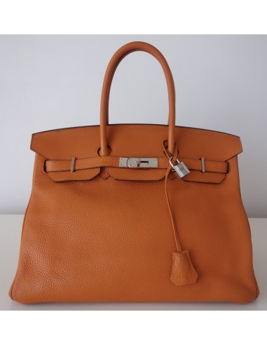 Sac Birkin Hermes orange