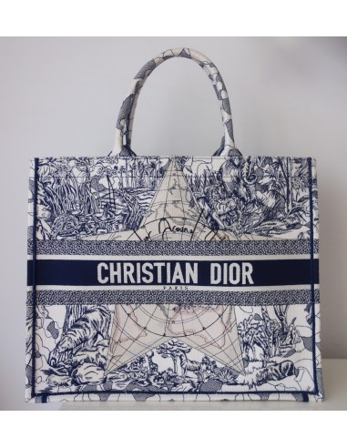 "Sac Dior Book Tote ""Around the world"""