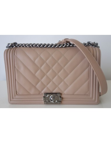 Sac Chanel Boy beige