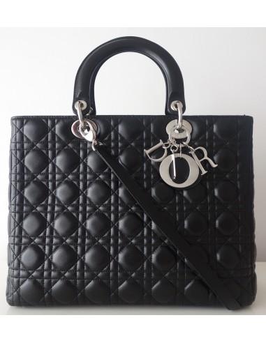 Sac Lady Dior noir