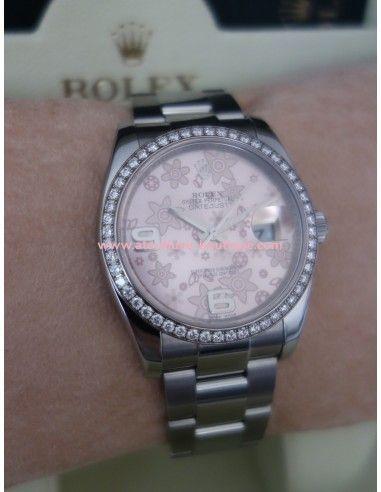 Montre Rolex diamants