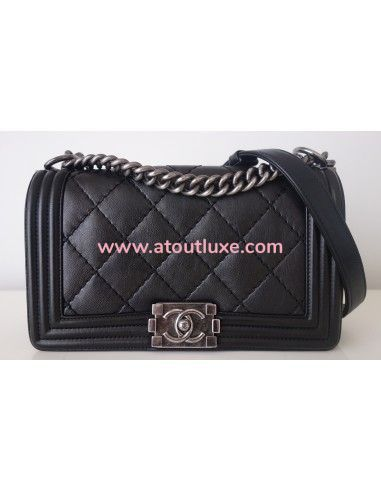 Sac Chanel Boy noir medium