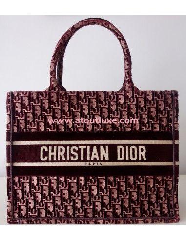 Sac Dior Book Tote Pm
