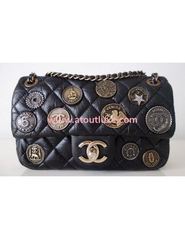Sac Chanel Classique charms