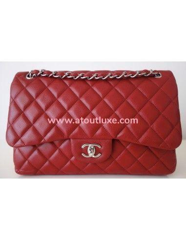 Sac Chanel Classique rouge